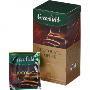 Чай Greenfield Chocolate toffee черный 1,5г. x 25пак