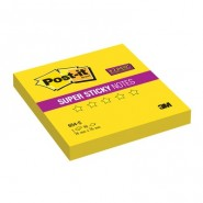 Блок-кубик Post-it Super Sticky 654-S 76х76 желтый,90л