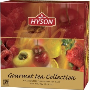 Чай HYSON чёрный, Gurmet Tea Collection 60 пак x 1.5гр/уп